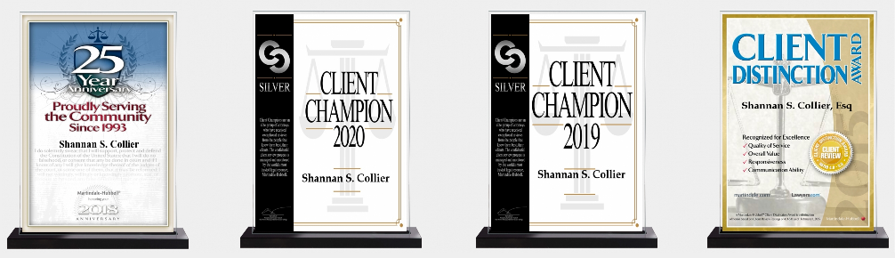 Attorney Shannon Collier Awards